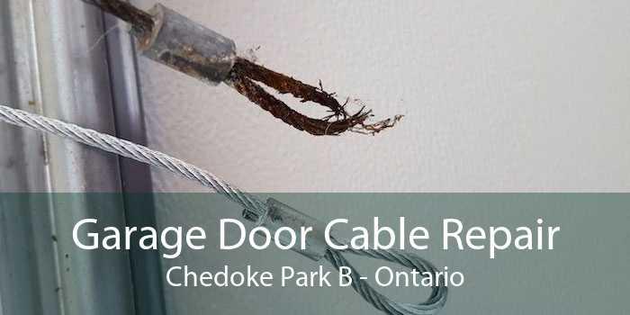 Garage Door Cable Repair Chedoke Park B - Ontario