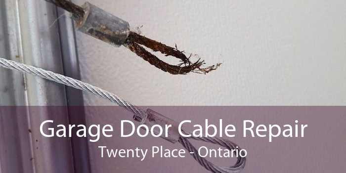 Garage Door Cable Repair Twenty Place - Ontario