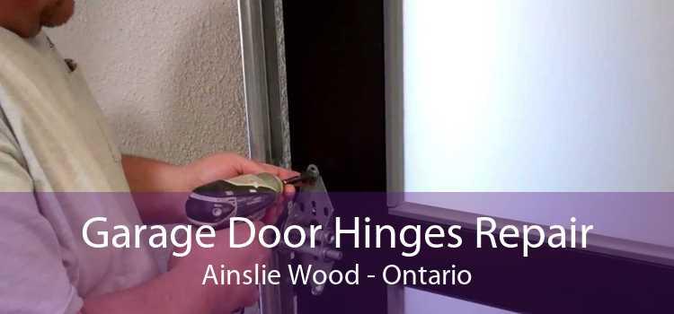 Garage Door Hinges Repair Ainslie Wood - Ontario