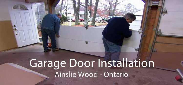 Garage Door Installation Ainslie Wood - Ontario