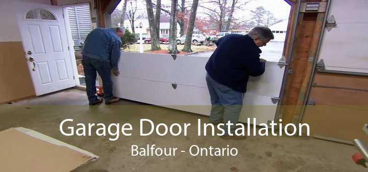 Garage Door Installation Balfour - Ontario