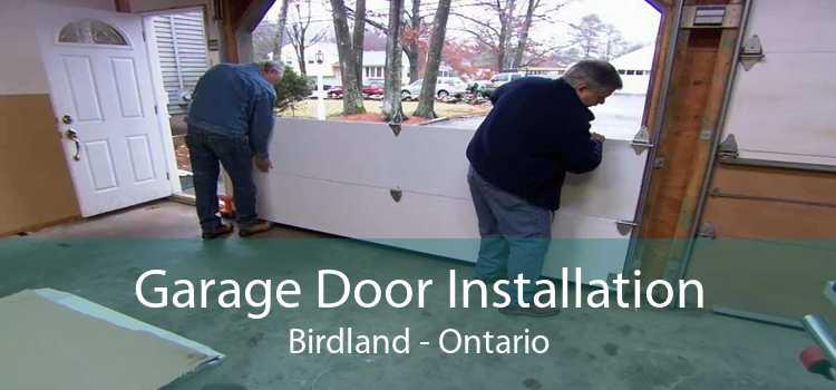 Garage Door Installation Birdland - Ontario