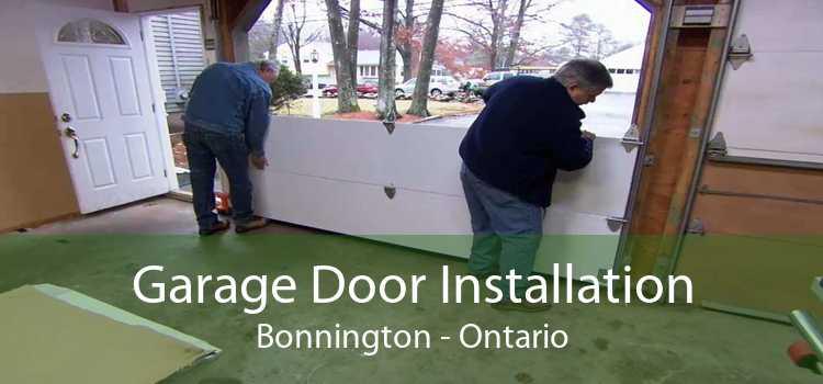 Garage Door Installation Bonnington - Ontario