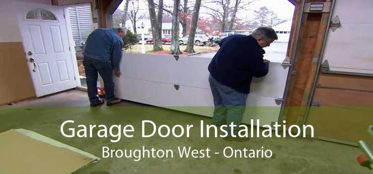 Garage Door Installation Broughton West - Ontario