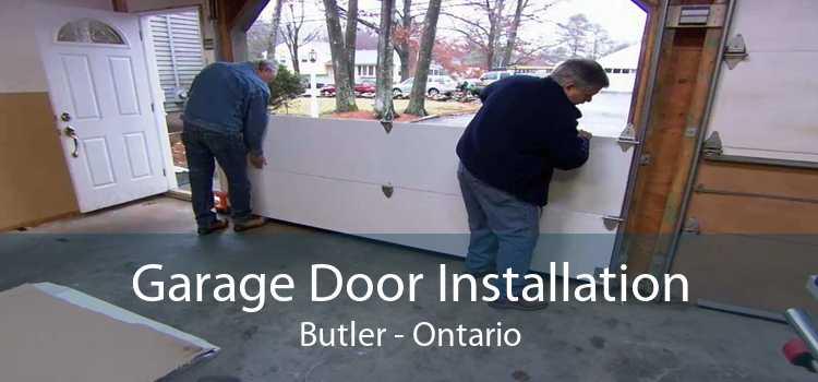 Garage Door Installation Butler - Ontario
