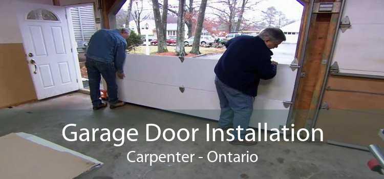 Garage Door Installation Carpenter - Ontario