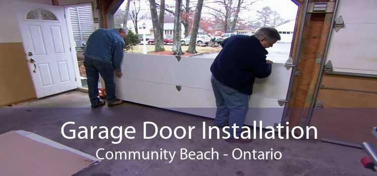 Garage Door Installation Community Beach - Ontario