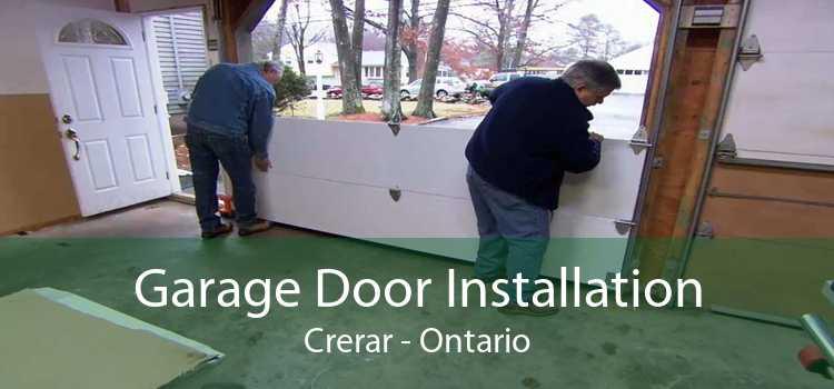 Garage Door Installation Crerar - Ontario