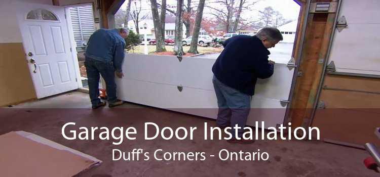 Garage Door Installation Duff's Corners - Ontario
