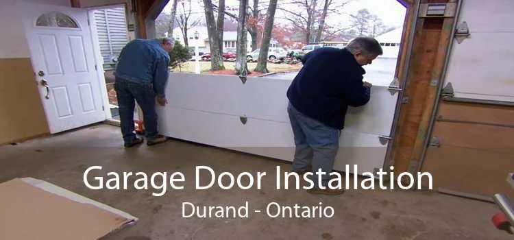 Garage Door Installation Durand - Ontario