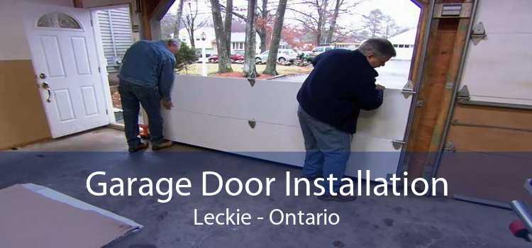 Garage Door Installation Leckie - Ontario