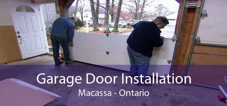 Garage Door Installation Macassa - Ontario