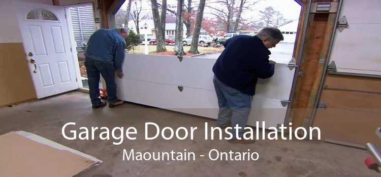 Garage Door Installation Maountain - Ontario
