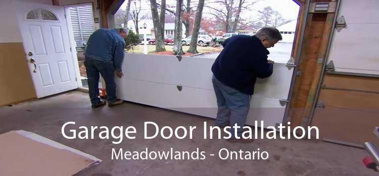Garage Door Installation Meadowlands - Ontario