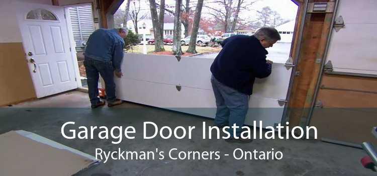 Garage Door Installation Ryckman's Corners - Ontario