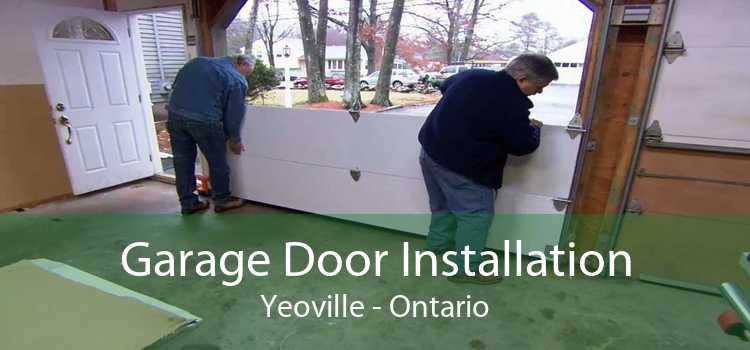 Garage Door Installation Yeoville - Ontario