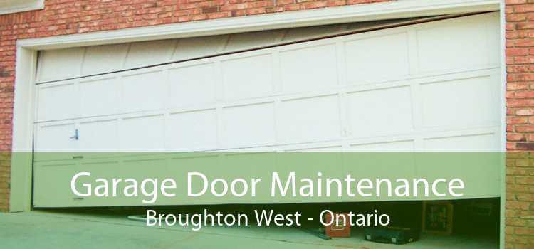 Garage Door Maintenance Broughton West - Ontario