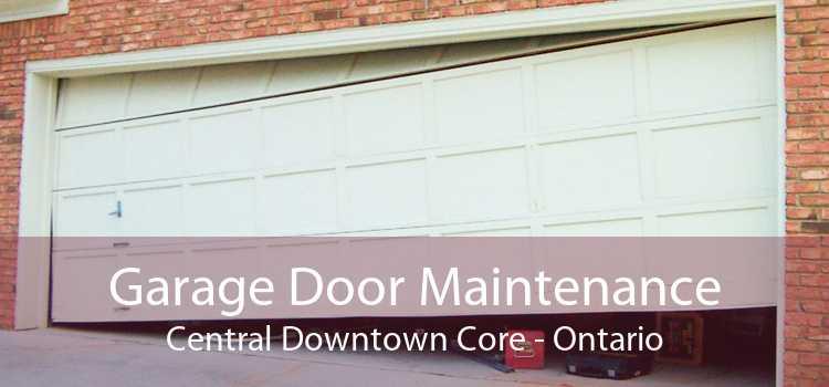 Garage Door Maintenance Central Downtown Core - Ontario