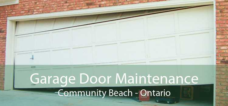 Garage Door Maintenance Community Beach - Ontario