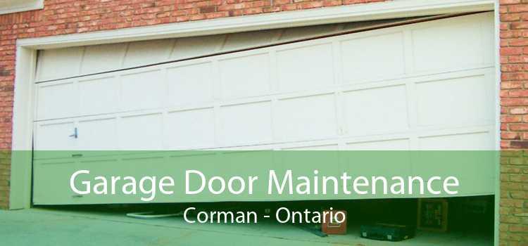 Garage Door Maintenance Corman - Ontario
