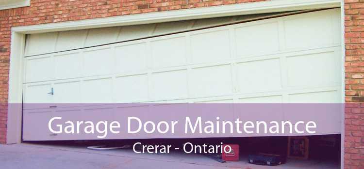 Garage Door Maintenance Crerar - Ontario