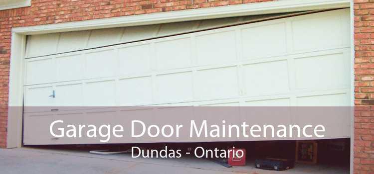 Garage Door Maintenance Dundas - Ontario