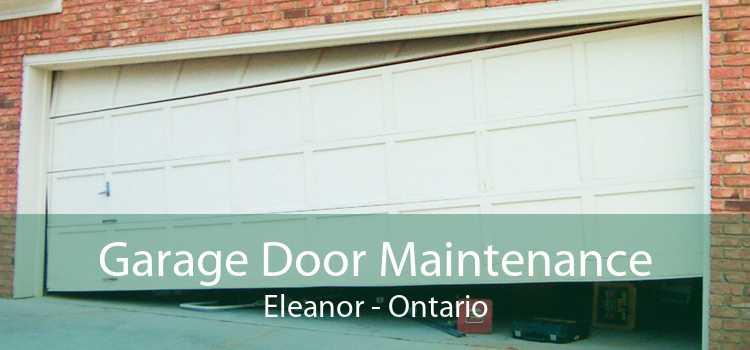 Garage Door Maintenance Eleanor - Ontario