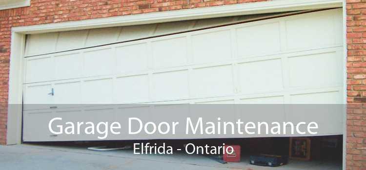 Garage Door Maintenance Elfrida - Ontario