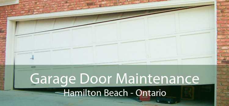 Garage Door Maintenance Hamilton Beach - Ontario