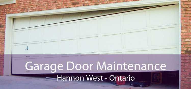 Garage Door Maintenance Hannon West - Ontario