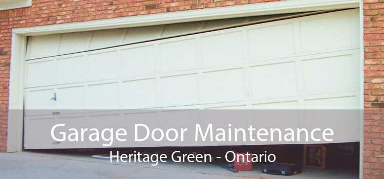 Garage Door Maintenance Heritage Green - Ontario