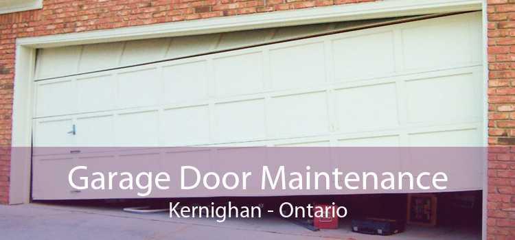 Garage Door Maintenance Kernighan - Ontario