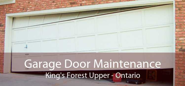 Garage Door Maintenance King's Forest Upper - Ontario