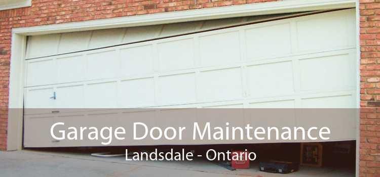 Garage Door Maintenance Landsdale - Ontario