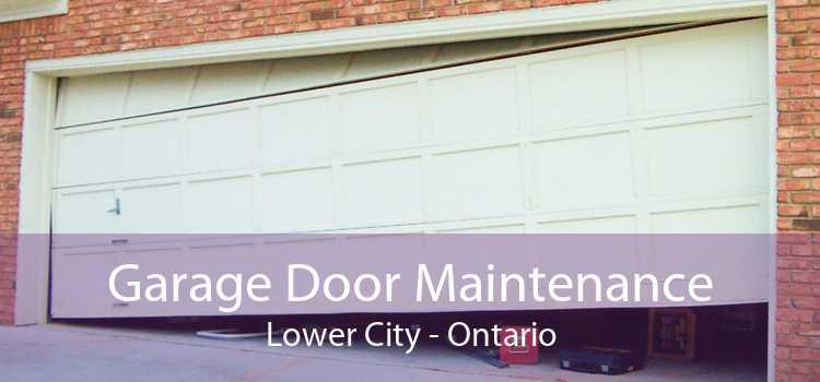 Garage Door Maintenance Lower City - Ontario