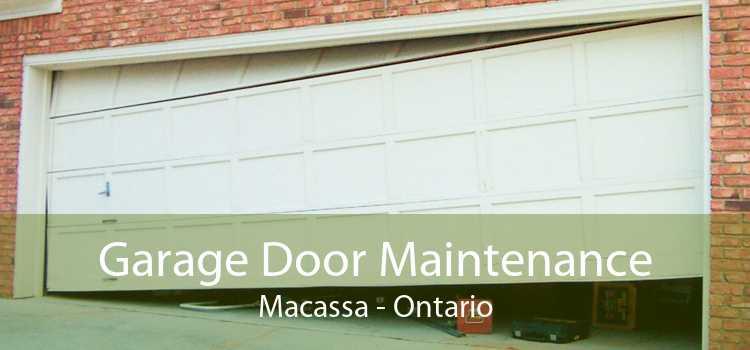 Garage Door Maintenance Macassa - Ontario