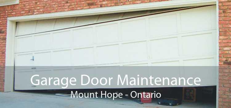 Garage Door Maintenance Mount Hope - Ontario