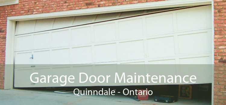 Garage Door Maintenance Quinndale - Ontario