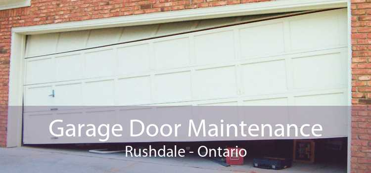 Garage Door Maintenance Rushdale - Ontario