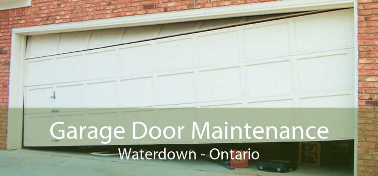 Garage Door Maintenance Waterdown - Ontario
