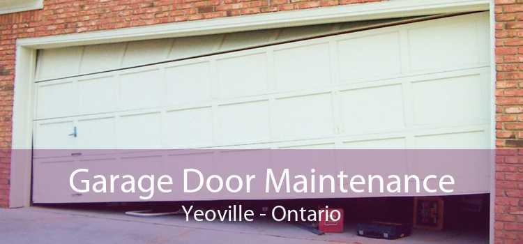 Garage Door Maintenance Yeoville - Ontario