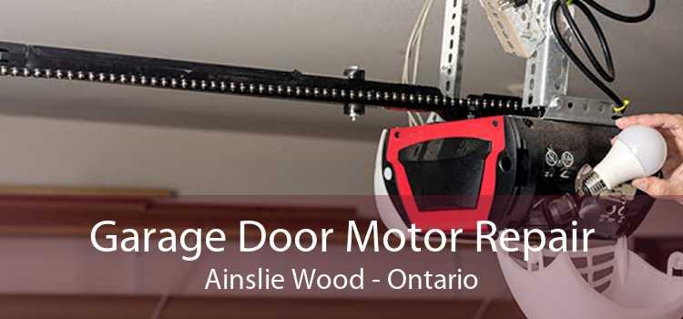 Garage Door Motor Repair Ainslie Wood - Ontario