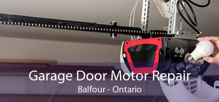 Garage Door Motor Repair Balfour - Ontario