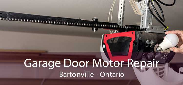 Garage Door Motor Repair Bartonville - Ontario