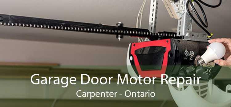 Garage Door Motor Repair Carpenter - Ontario
