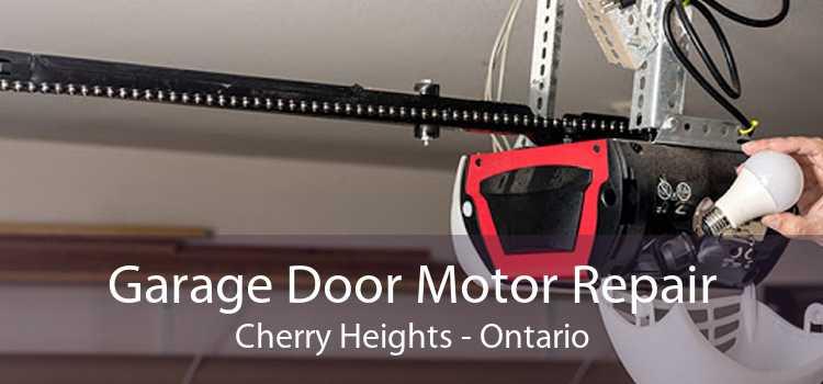 Garage Door Motor Repair Cherry Heights - Ontario