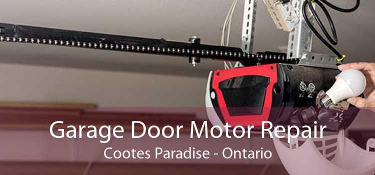 Garage Door Motor Repair Cootes Paradise - Ontario
