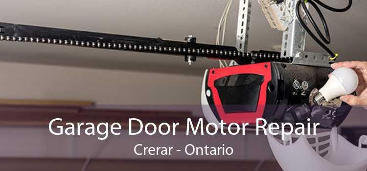 Garage Door Motor Repair Crerar - Ontario