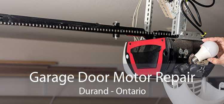 Garage Door Motor Repair Durand - Ontario