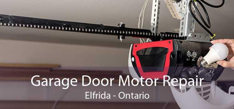 Garage Door Motor Repair Elfrida - Ontario